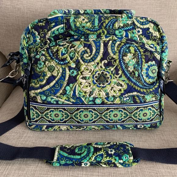 Vera Bradley Weekender bag - blue/green print